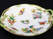 Herend Offering Bowl with Victoria Decoration