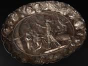 Nürnberg silver dish