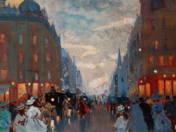 Street in Dawn