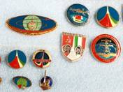 13 pcs Badges in Theme of Space Travel