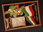 For Memory of my Service Time - Picture Frame 1951