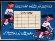 Pajtás Bikes - Timetable