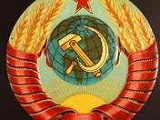 Tin Soviet Coat of Arms