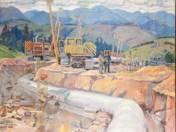 The Construction Druzhba Pipeline