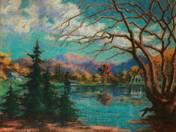 Landscape at Lake