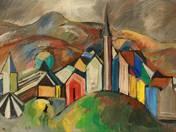 Mountainous Town