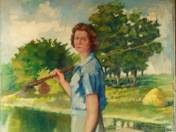 Angler Lady
