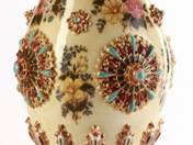 Zsolnay Vase with Flower Decoration