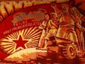 Workers of the world, unite! - tapestry