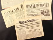 Newspapers of 1956 (3 pcs)