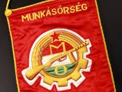 Militiaman Komárom Flag