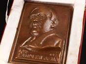 Landler Jenő plaque