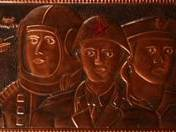 Soviet soldiers - slab