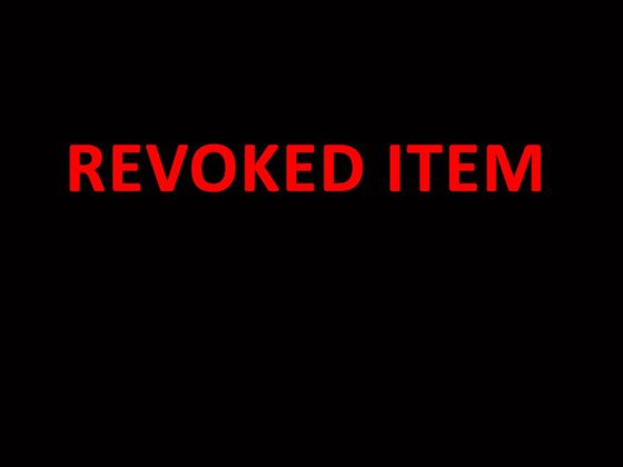 Never Again - Sixth Sale — Rebooted items