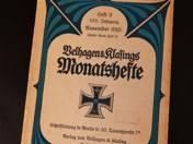 Belhagen & Klafings Monatshefte 1915