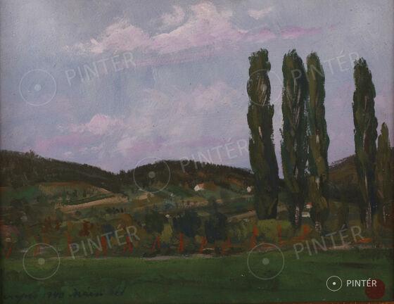 Auction at Vaszary Villa 2014 - Balaton, Summer, Love... — Paintings and sculptures 3.