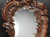 Carved Rococo Mirror