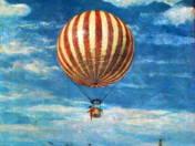 Pál, Szinyei Merse: The balloon, 1882