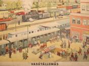 Railway station packard 1960