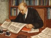 Lenin is reading Pravda (1977)