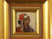 Gyula Tornai: Portrait of woman