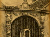 Sopron Moorish gate