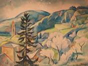 Landscape of Tettye