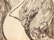 Fantastic scene, 1913-14