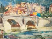 Bridge over the Tiber