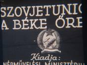 Ismeretlen: 3 db diafilm - Beszélő képek - A Szovjetúnió a béke őre
