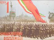 May 1. The march-past of our Peoples' Army