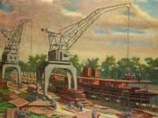 Shipyard Scene (1952)
