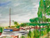Dock at Lake Balaton