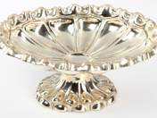 Silver fruit tray from Pest