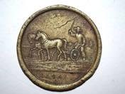 Commemorative Coin -Pest lawn 1641