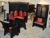 Art Nouveau office furniture (11 pcs)