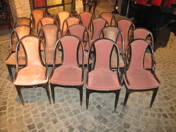 Otto Prutscher chairs (18 pcs)
