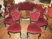 Louis Philippe salon set