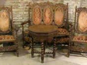 Neo-Renaissance-salon set