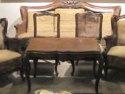 Neo-Baroque salon set