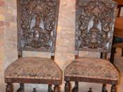 Historical  chair pair