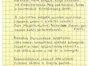 Páris, 1931 c. vers autográf tintaírású kézirata