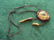 1 db kézzel készített nyaklánc