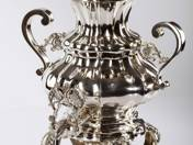 Viennese antique silver samovar