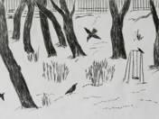 Snowy Garden 91/100