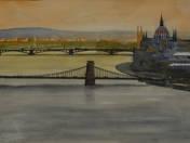Chain Bridge with Parliament