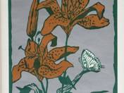 Butterfly and Lilies 53/100
