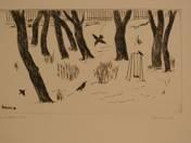 Snowy Garden 27/100
