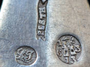 Antique Silver Spoon from Pest (Budapest)