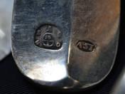 Viennese Antique Silver Fork (12 pieces)